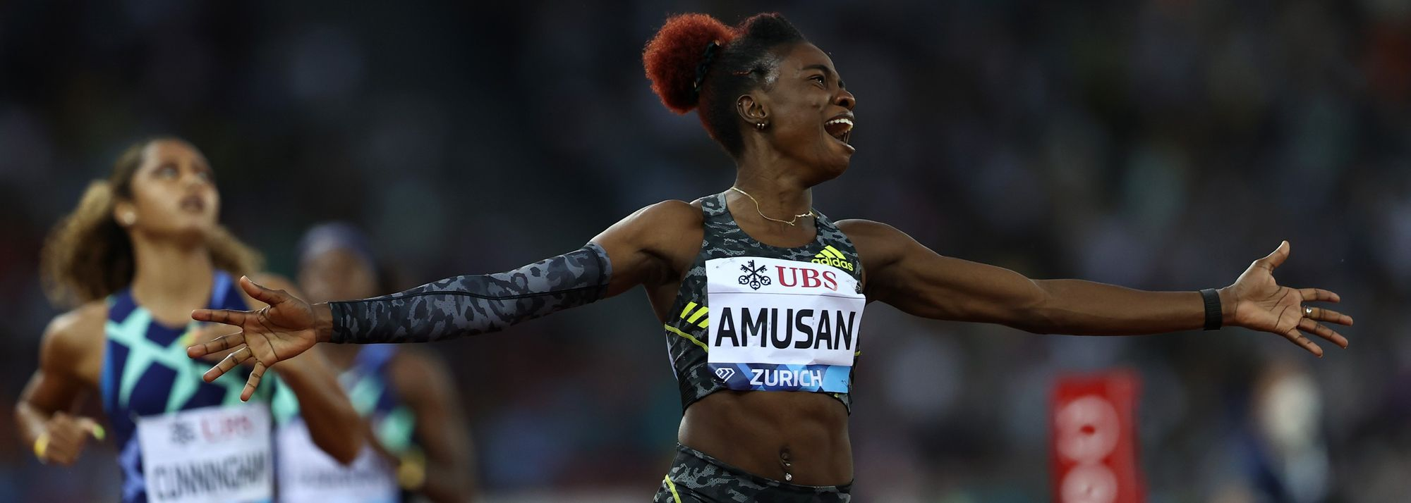 """""""I'll come back stronger."""" That was the promise Nigerian hurdler Tobi Amusan made to herself and her fans after placing fourth in the 100m hurdles at the Tokyo Olympics."""