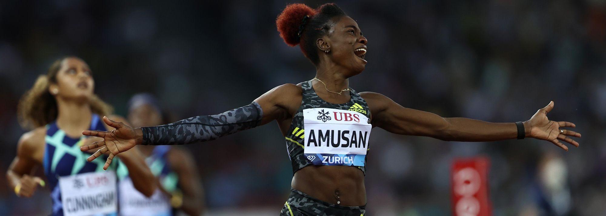 """""""I'll come back stronger."""" That was the promise Tobi Amusan made after placing fourth at the Tokyo Olympics."""