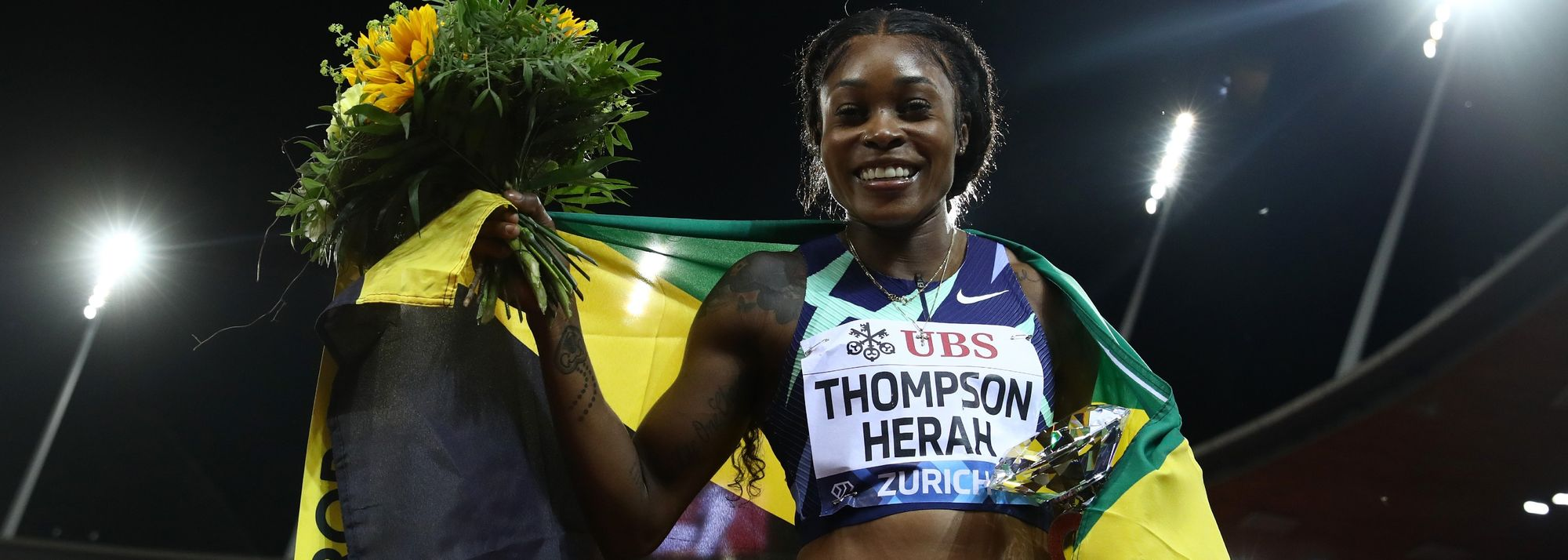 Jamaican sprint star Elaine Thompson-Herah brought an incredible season to a close with yet another record-breaking performance at the Wanda Diamond League final in Zurich on Thursday (9).