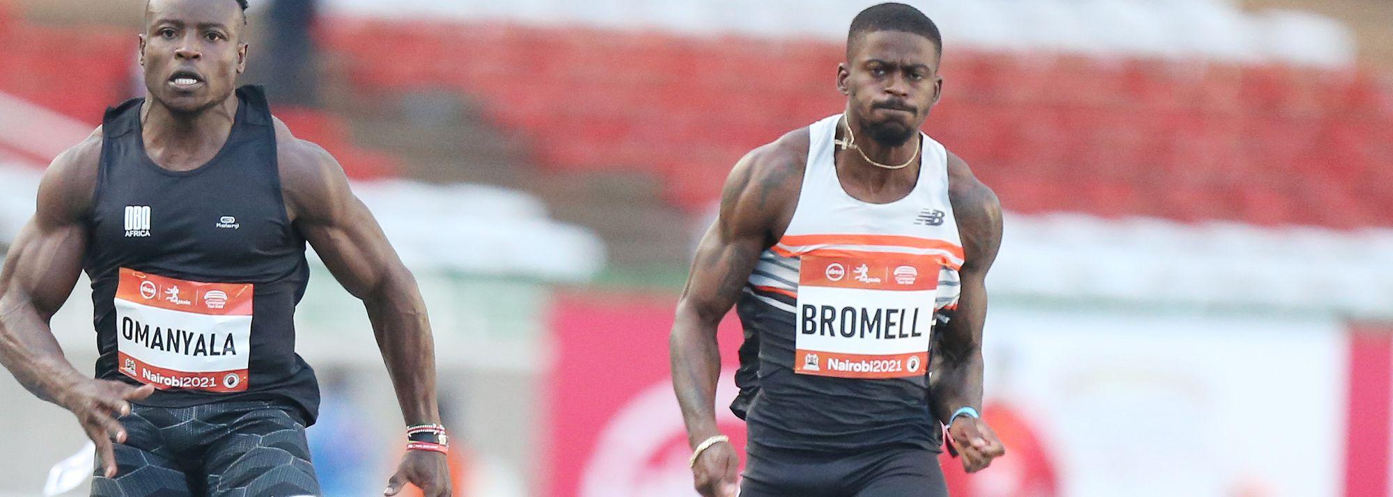In second, Ferdinand Omanyala clocks African record of 9.77