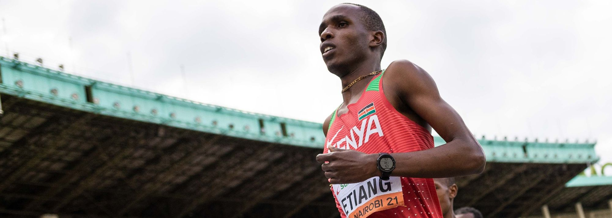 Ask Kamar Etiang his goals for the future and the Kenyan 18-year-old isn't shy about making a bold prediction.