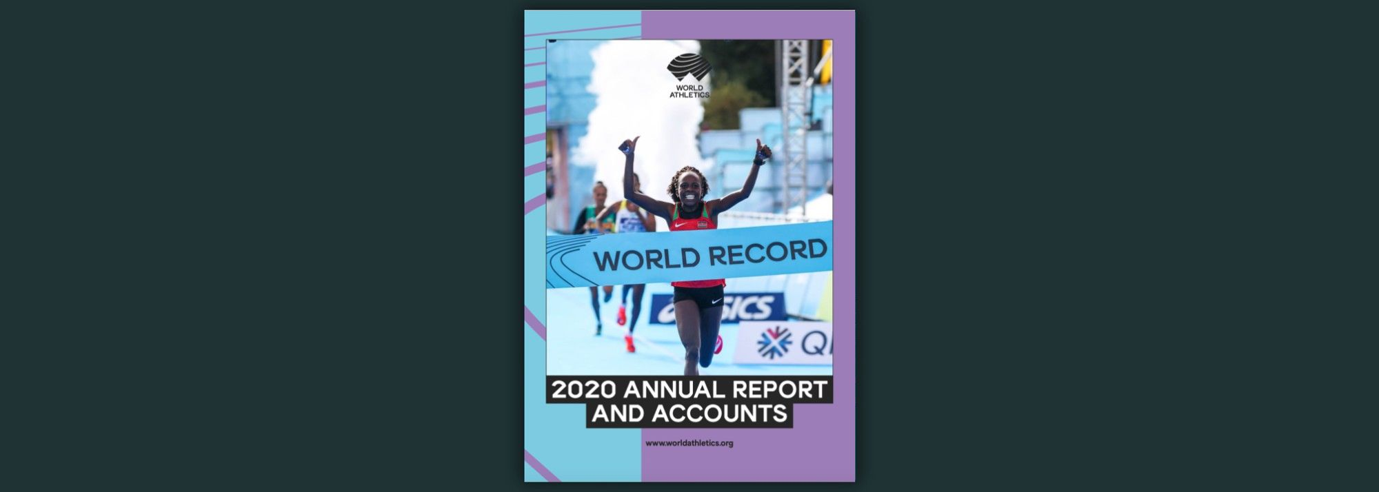 World Athletics has today published its Annual Report for 2020.