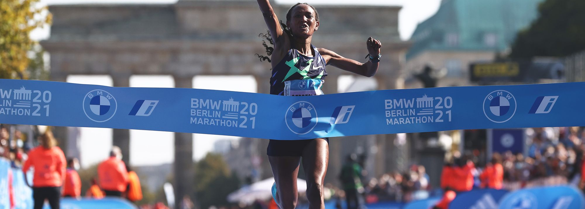Gotytom Gebreslase (2:20:09) and Guye Adola (2:05:45) secure Ethiopian double