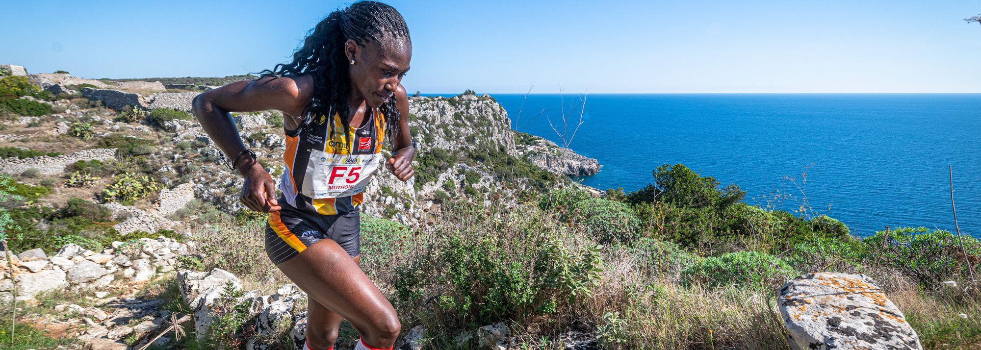 Kenya's Joyce Muthoni Njeru and Eritrea's Petro Mamu were victorious at the Trofeo Ciolo mountain running race in the Puglia region of Italy