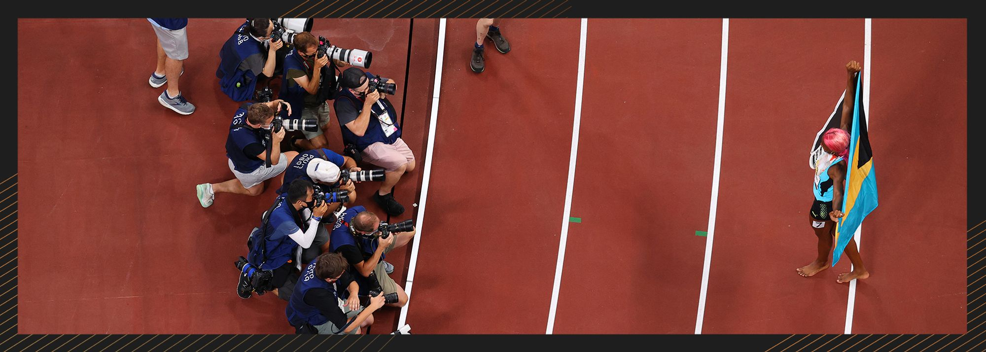 World Athletics will present an award for the best athletics photograph of the year at the World Athletics Awards 2021.