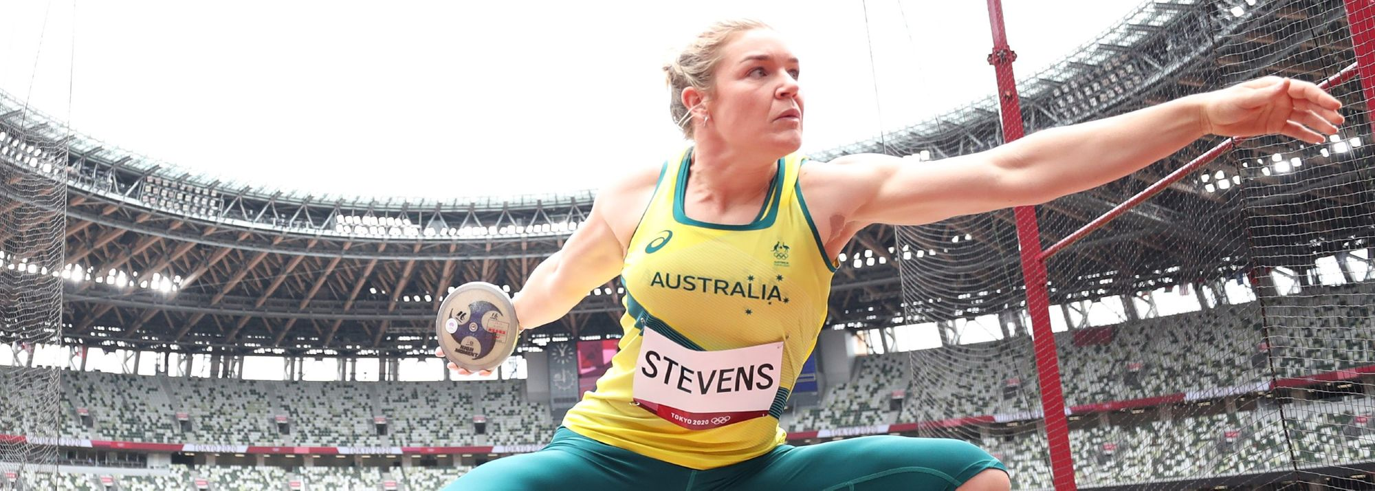 Australia's Dani Stevens has announced her retirement from competitive athletics after a career which saw her win a world discus title and compete at four Olympic Games.