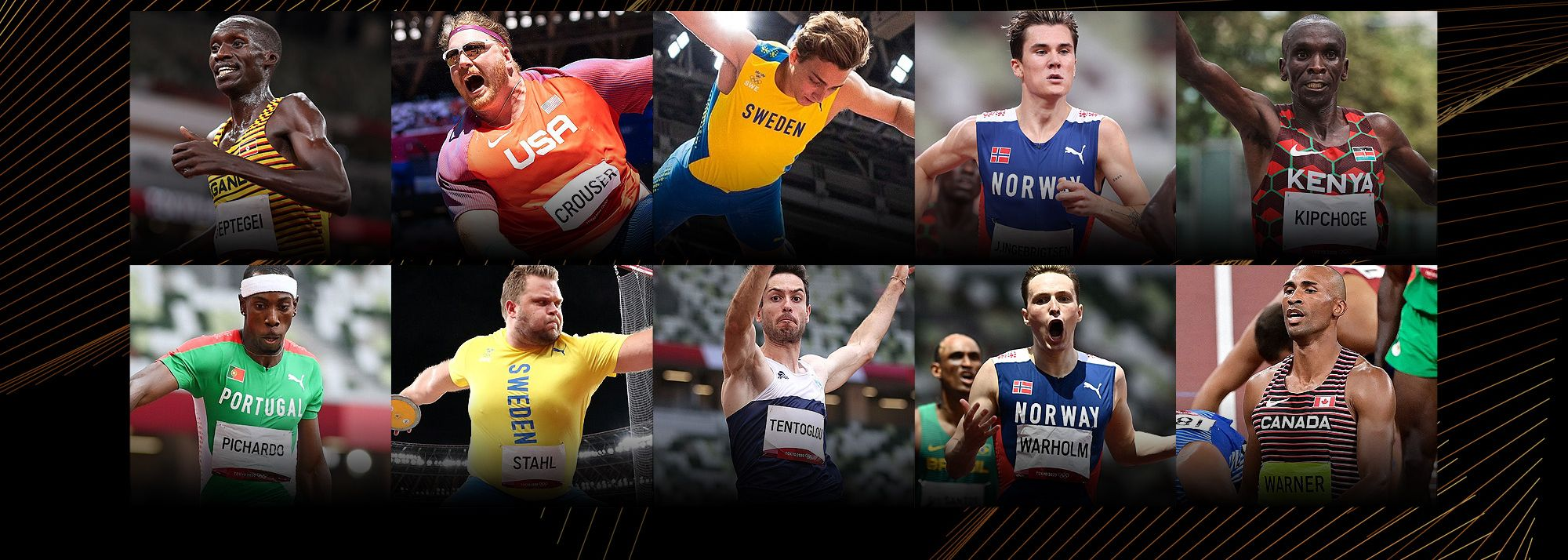 A closer look at the nominated athletes