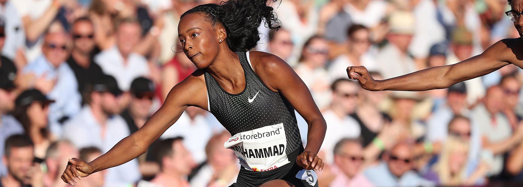 Dina Asher-Smith vs Sha'Carri Richardson over 200m, plus Dalilah Muhammad vs Femke Bol at 400m hurdles