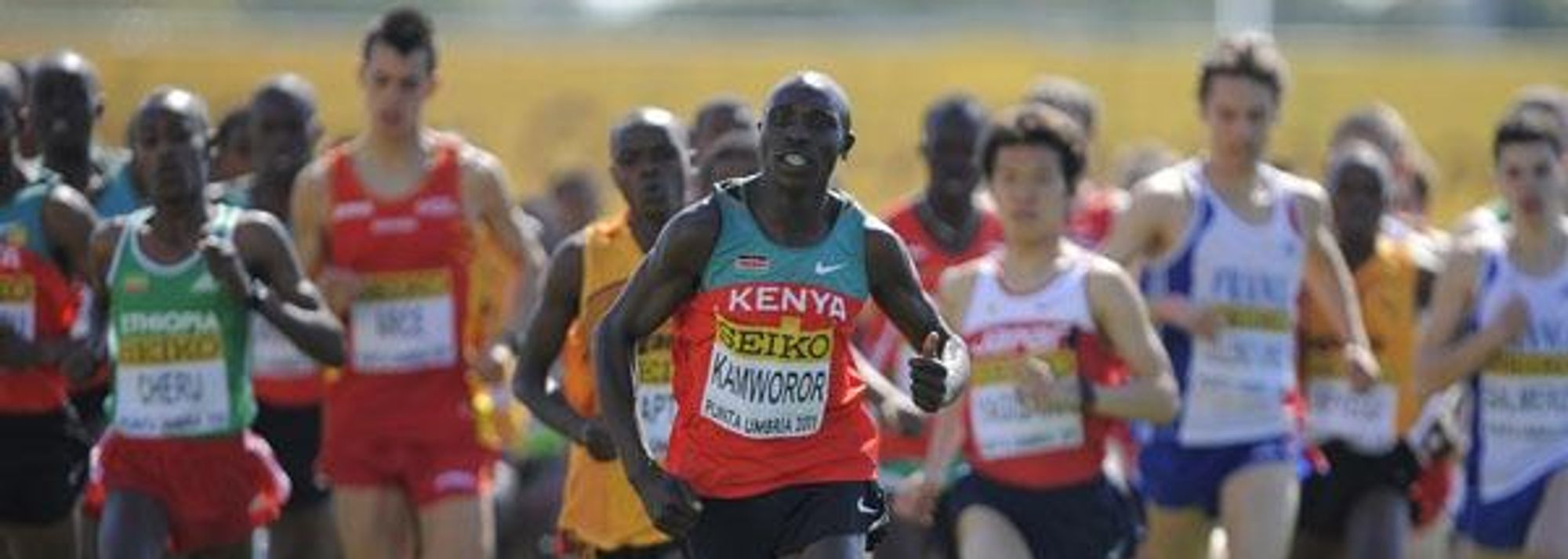 Kipsang upsets the odds - Men's Junior Race Report - Punta Umbria 2011