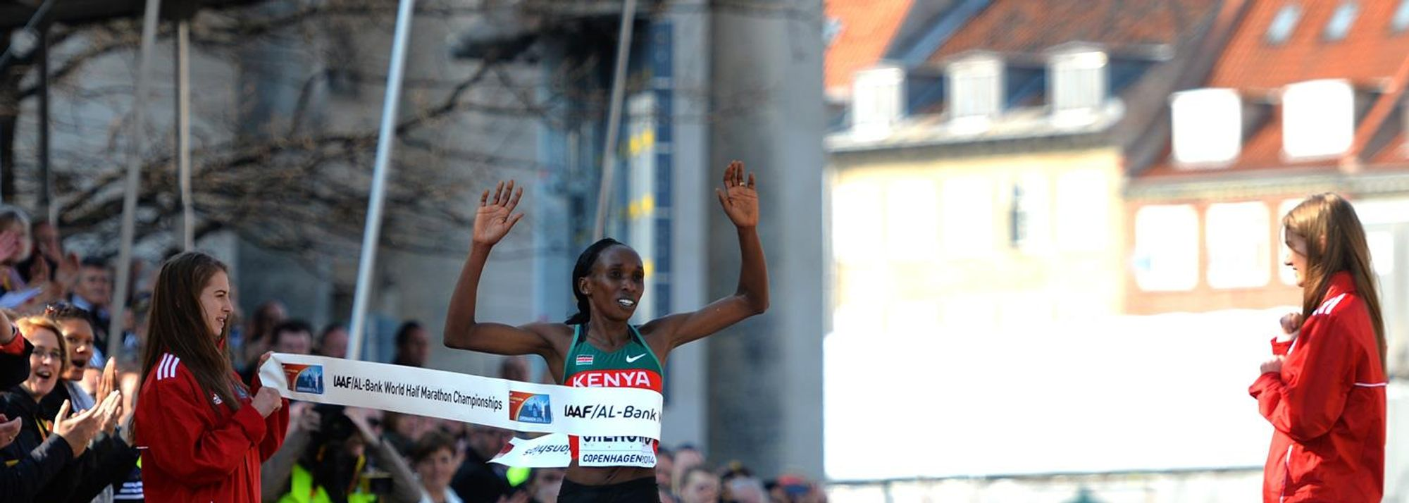 Kenya, as expected, produced a totally dominant performance in the women's race at the 2014 IAAF/AL-Bank World Half Marathon Championships in Copenhagen as they reclaimed individual and team honours from their Ethiopian rivals.