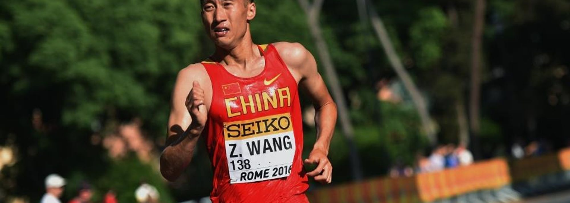 When it mattered, the pedigree of Wang Zhen shone through for an emphatic 20km gold at the IAAF World Race Walking Team Championships Rome 2016.