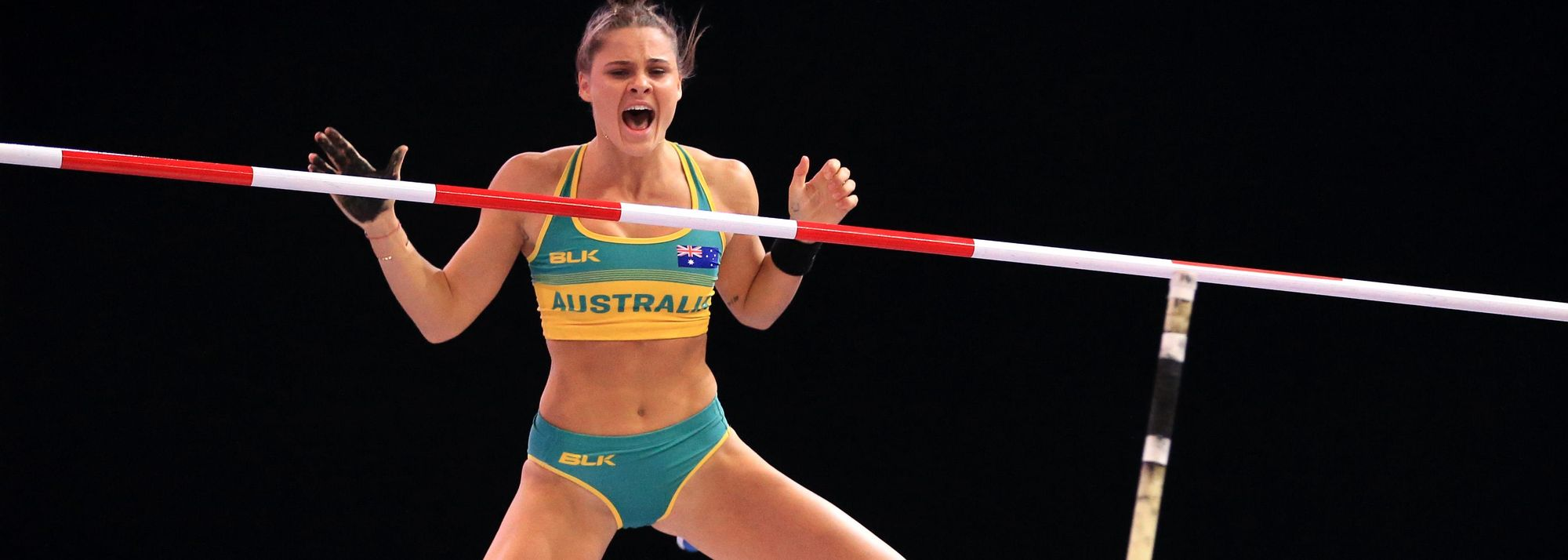 How a year of lockdown transformed the Australian vaulter's career