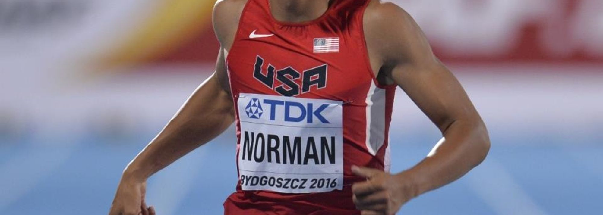 Michael Norman is what in the USA they might call 'a phenom'. The 18-year-old has only just graduated from high school but he is already being touted as one of the hottest commodities on the US sprinting scene.