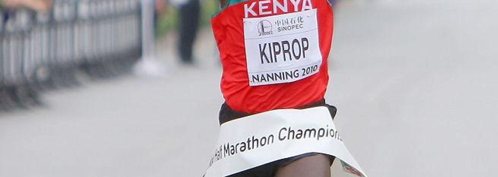 Nanning, China – When Wilson Kiprop claimed the World title today (16) at the IAAF / SINOPEC World Half Marathon Championships, he not only ended Zersenay Tadese's four year reign as the world's premiere Half Marathoner. The 23-year-old joined his compatriot Florence Kiplagat on the top step of the Nanning podium to complete the first national double victory at these championships since 1999.<BR>
