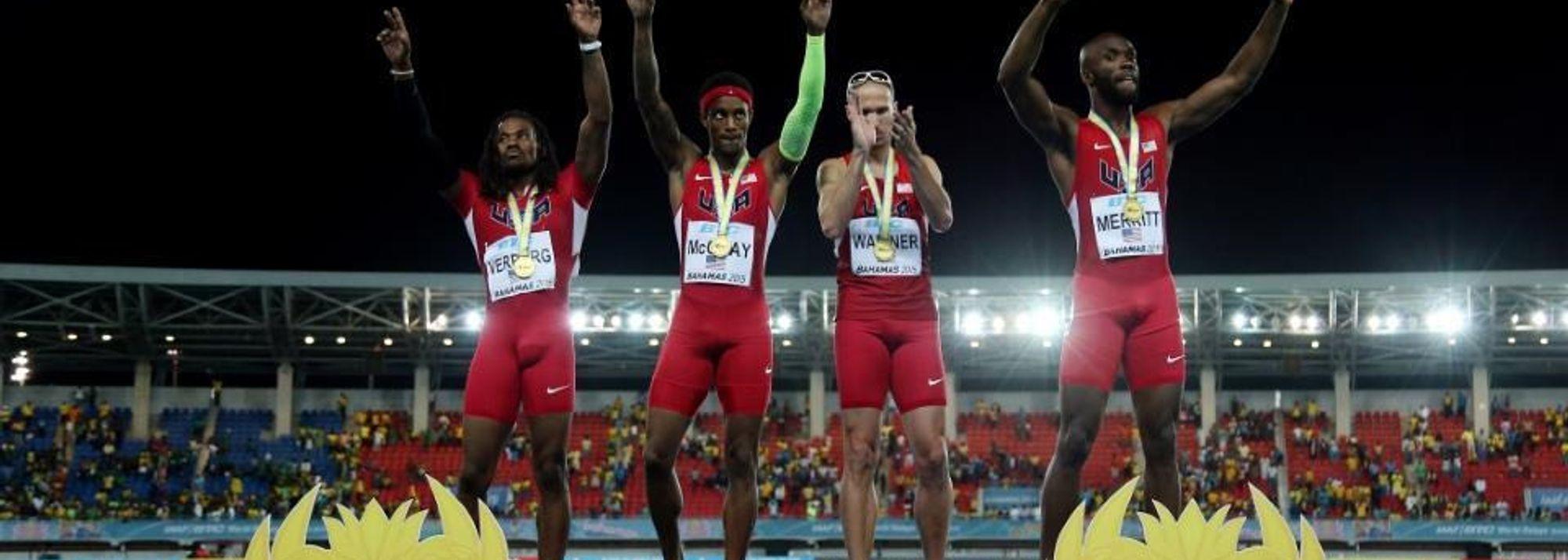 USA successfully defend golden baton – IAAF/BTC World Relays, Bahamas 2015