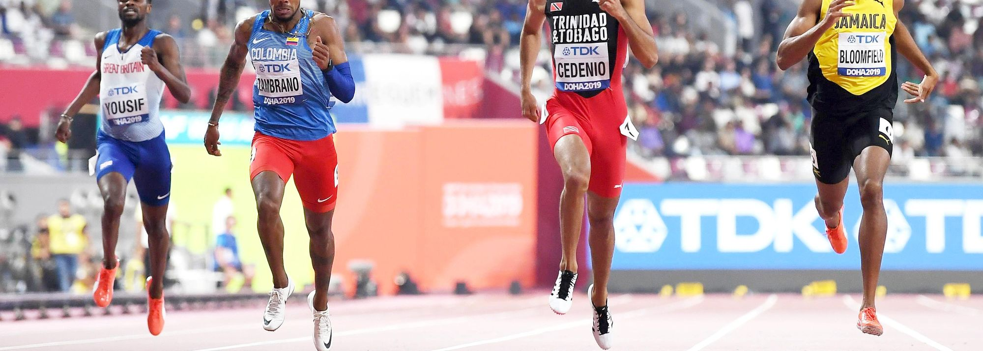 Rising Colombian star Anthony Zambrano produced a major surprise at the World Athletics Championships Doha 2019 last month when he raced to 400m silver. The 21-year-old clocked a notable 44.15 to clip a hefty 0.14 from the South American record set by Brazil's Sanderlei Claro Parrela at the 1999 World Championships in Seville when Zambrano was barely a year old.