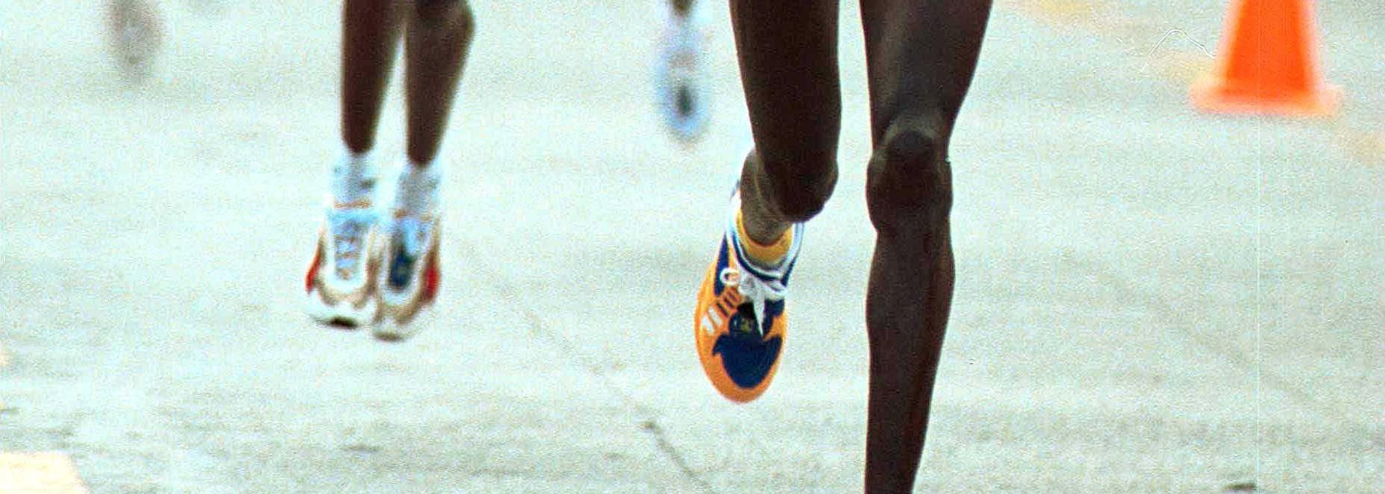 In a masterful display of strength and tactics, World Half Marathon Champion, Paul Tergat of Kenya became the first man ever to successfully defend his title