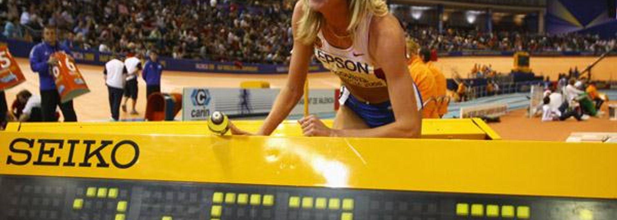 pain - For Yelena Soboleva, tonight's 1500m World record came only as a bonus. </P>
