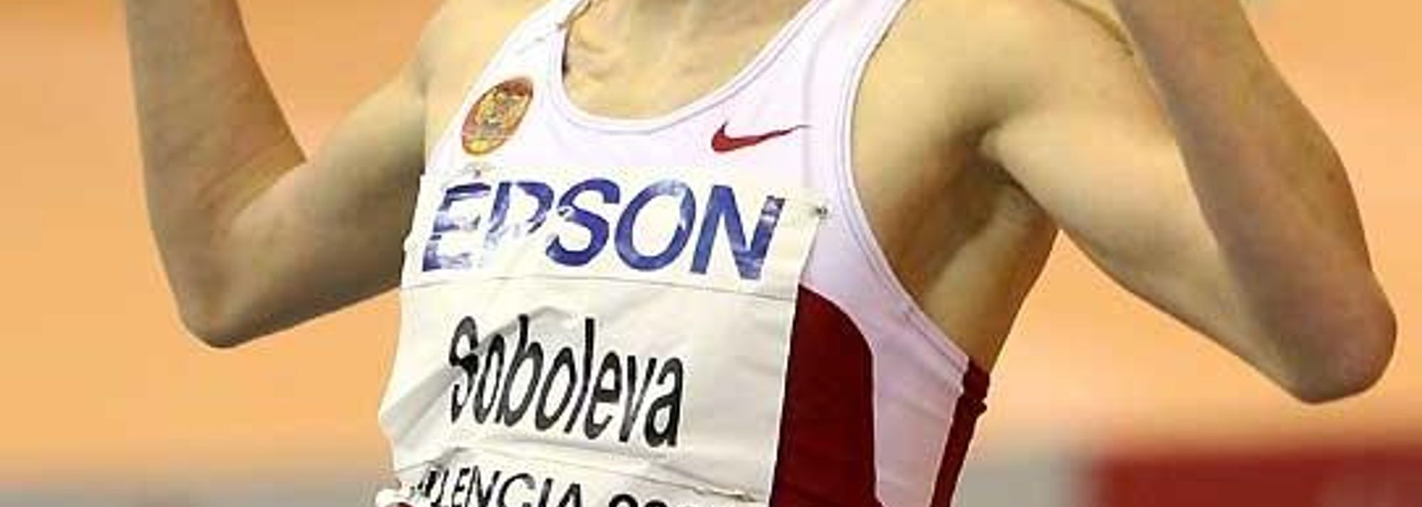 ain - This was always likely to be the race of the championships and it did not disappoint as Yelena Soboleva bettered her own World indoor record mark** by a monster 0.34 posting 3:57.71.<BR>
