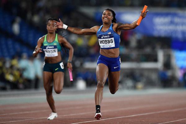 world-athletics-relays-silesia21-preparations-finishing-straight