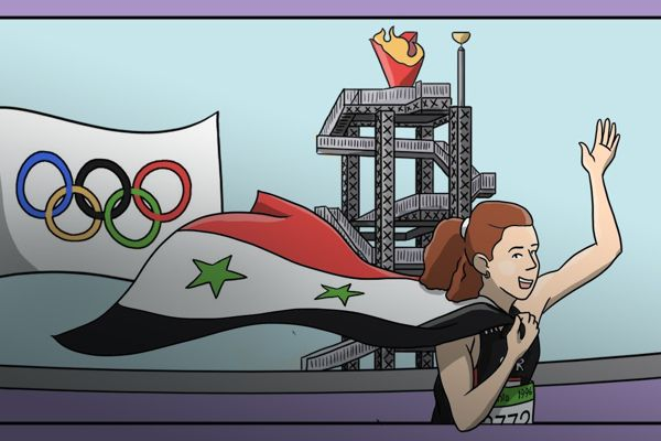 ghada-shouaa-olympic-gold-syria-comic-feature