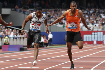 london-diamond-league-100m-blake-grasse-hughe