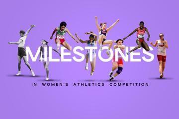 milestones-timeline-womens-athletics-track-fi