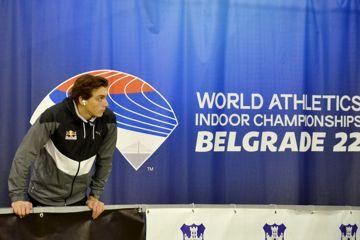 Mondo Duplantis at the Serbian Open