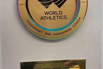 Arthur Lydiard, New Zealand - World Athletics Heritage Plaque
