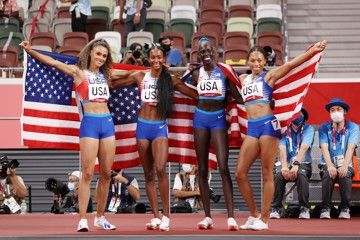 tokyo-olympic-games-women-4x400m-report