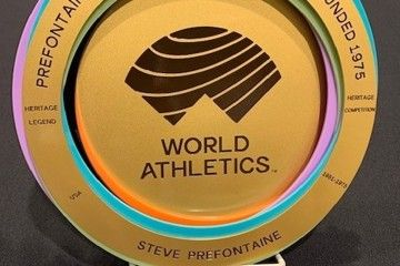 World Athletics Heritage Plaque for the Prefontaine Classic and Bowerman Mile