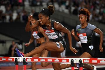 keni-harrison-100m-hurdles-world-record-londo