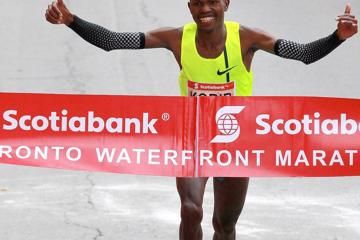 korir-seboka-toronto-waterfront-marathon