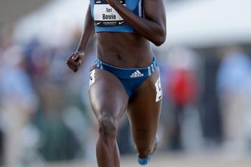 tori-bowie-athletics-work-rest-play-100m-long