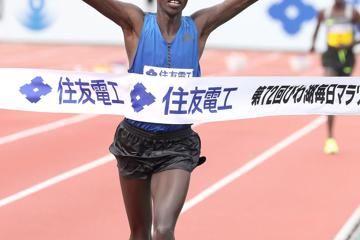 chebii-wins-lake-biwa-marathon