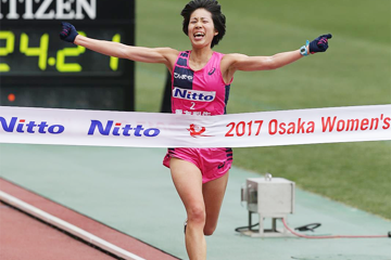 shigetomo-wins-2017-osaka-womens-marathon