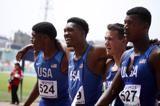 world-u20-record-4x400m-relay
